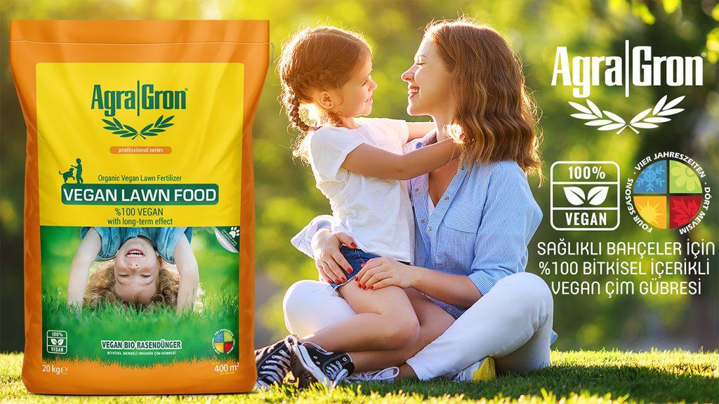 çim gübresi AgraGron Vegan Lawn Food