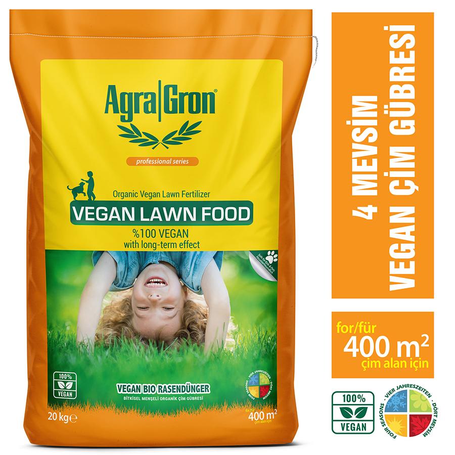 çim gübresi AgraGron Vegan Lawn Food 20 kg