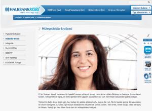 Burçin Karababa Müteşebbisler Kraliçesi Halkbank Kobi haberi