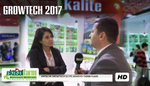EKOSOLFARM SOLUCAN GUBRESI KOY TV ROPORTAJ GROWTECH 2017