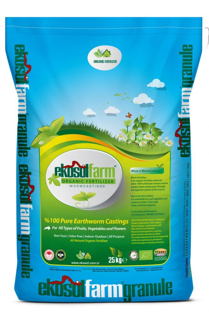 EkosolFarm 25 kg Organik Gubre