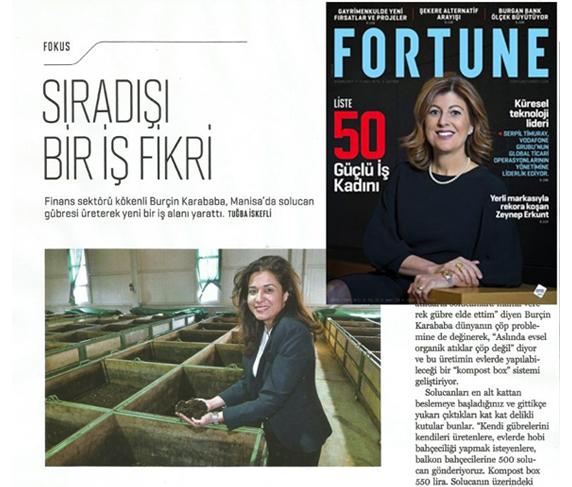 Ekosol Haberler Fortune Dergisi