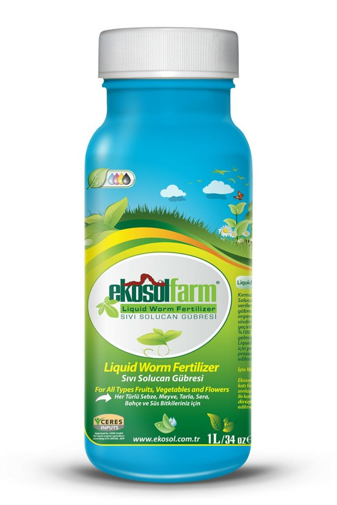 EkosolFarm Sıvı Solucan Gübresi 1 Litre